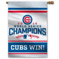 Chicago Cubs World Series Champions Banner