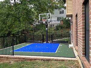 Small yard? Sloping driveway? Basketball rolling into the ...