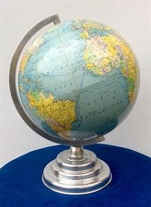 Globe Terrestre Sur Pied : ancien globe terrestre girard et barr re sur pied m tal design vintage 50 catawiki ~ Teatrodelosmanantiales.com Idées de Décoration