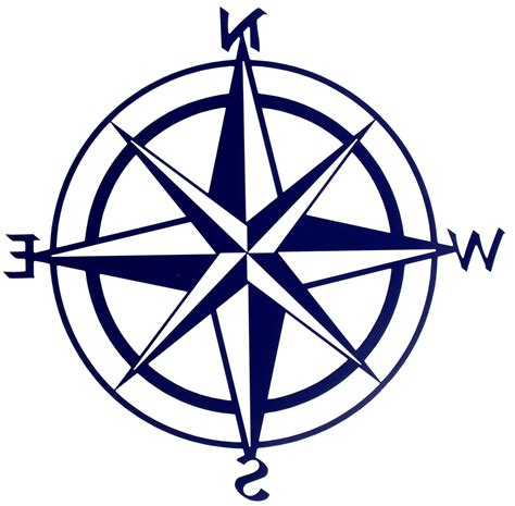 Compass Clip Nautical Compass Clip Clipart Library