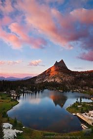 Upper Cathedral Lake Yosemite National Park …