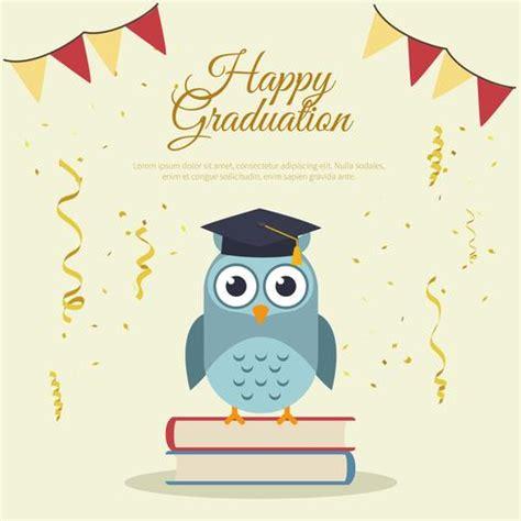 graduation card templates happy graduation card template free vector stock graphics images