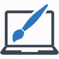 icon design graphic design paintbrush web design icon icon search engine