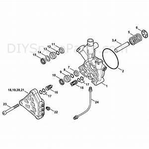 Stihl Re 163 Plus Pressure Washer  Re 163 Plus  Parts
