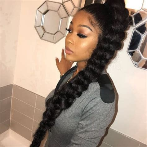 Sew In Hairstyles With Braids by 50 Sew In Weave Hairstyles For A Glamorous New You All