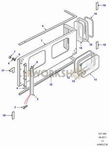 Rear Body Upper - 110 Hard Top