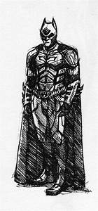 Batman drawing from Dark Knight Rises by Spookyspoots on ...