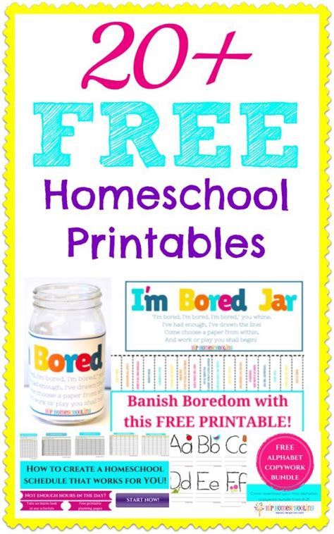 20 free homeschool printables learning at home 771 | 0b80fe2ce04c6056079e08324367e679 preschool lessons preschool activities