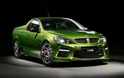Holden Vehicles by Holden Reveals 585hp Gts Maloo Performance Ute 95 Octane