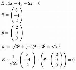 Normalenvektor Berechnen : hessesche normalform ~ Themetempest.com Abrechnung