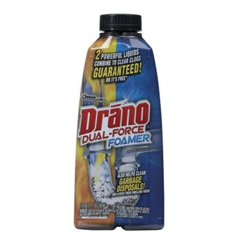 Drano For Sink Home Depot by Drano 17 Oz Foaming Liquid Drain Cleaner 014768 The