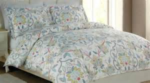 3pc cynthia rowley king comforter set island tropical jacobean floral cotton what s it worth