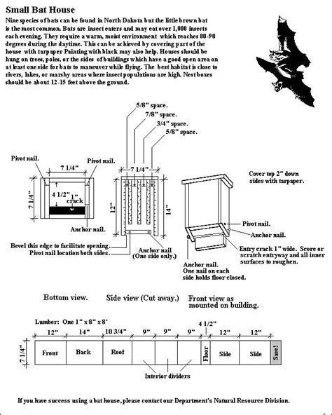small bat house plans woodworking projects plans