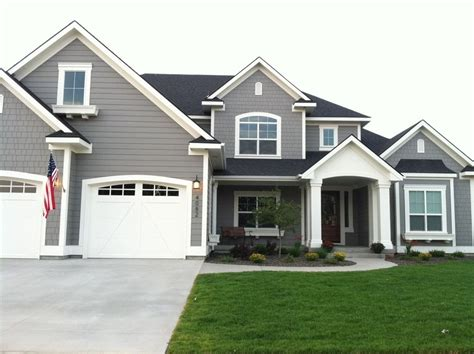 popular paint colors exterior dovetail and white dove