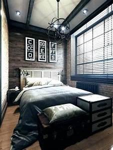Teenage, Male, Bedroom, Sets, Elegant, Bedrooms, Dark, Black, And