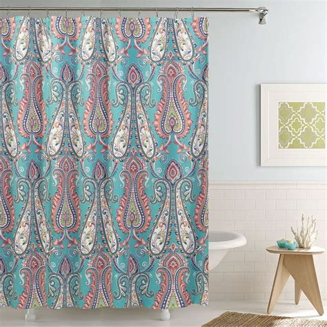 coral colored shower curtain best 25 coral shower curtains ideas on coral