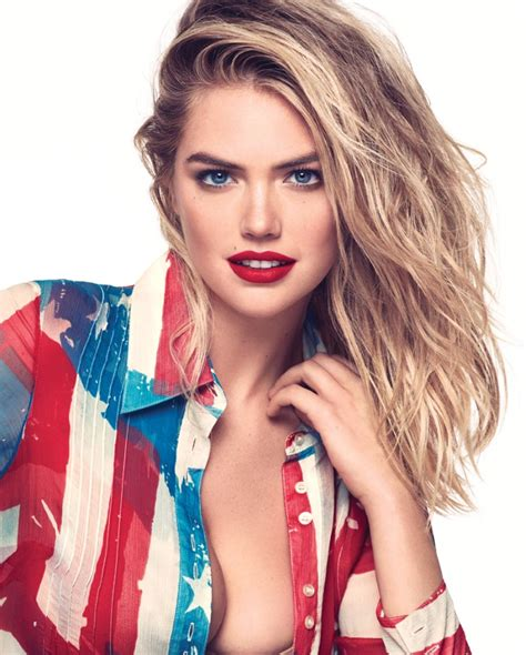 Kate Upton Is All American Girl In Easton & Roso Snaps For