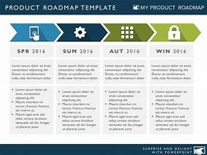 four phase business strategy timeline roadmapping With developing a business strategy template