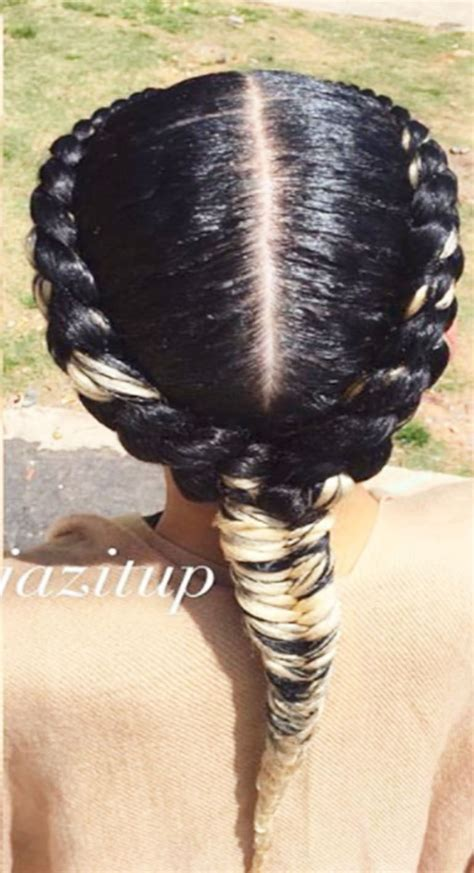 goddess braids   side  natural hairstyles