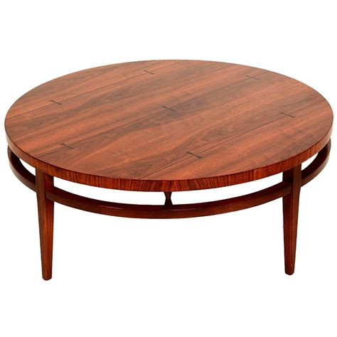 mid century modern coffee table for sale mid century modern round coffee cocktail table by lane