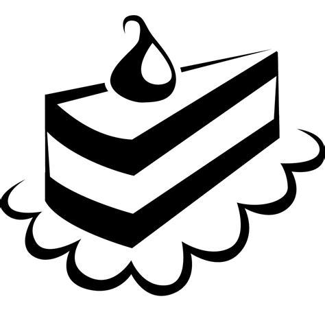 clipart black and white slice of cake clip black and white animehana