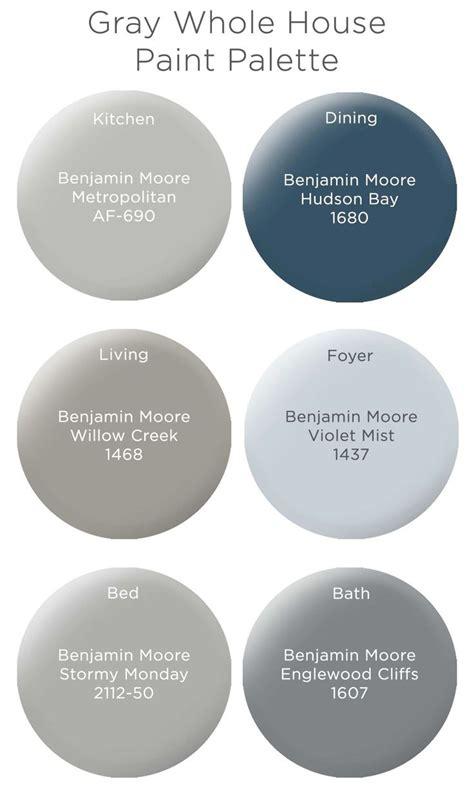 foto de Paint your home BM's gray color palette: Metropolitan