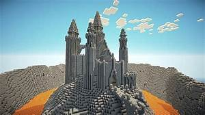 Lava Lake Castle Minecraft Project