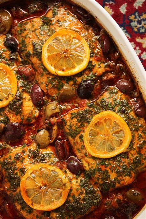 moroccan fish tagine  ginger saffron