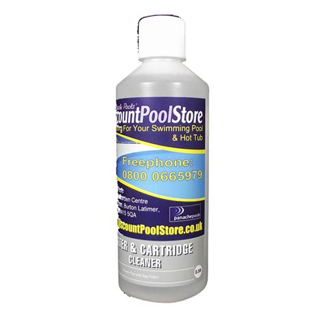 cartridge filter cleaner filter cartridge cleaner 0 5 litres panache pools 2008