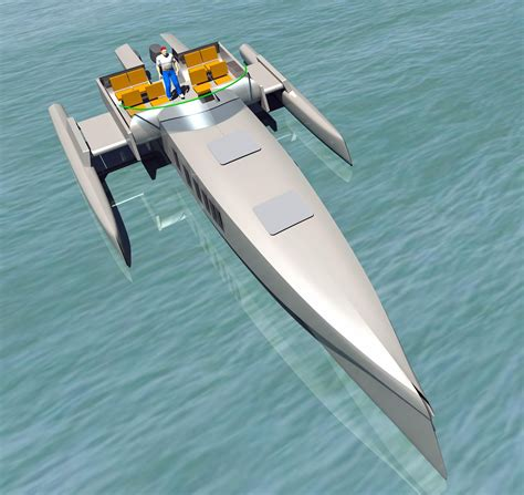 Trimaran Kurt Hughes by Kurt Hughes On Catamarans Trimarans And Boat Design
