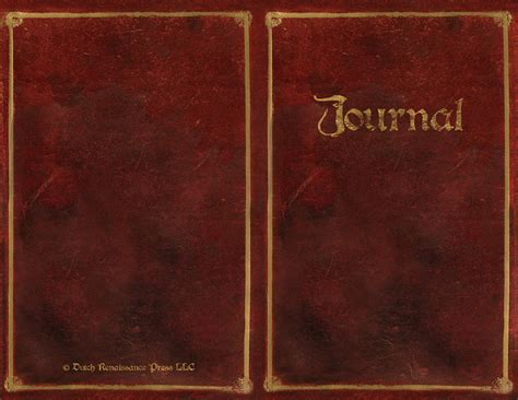 Book Cover Template by Free Writing Journal Templates Make Your Own Journal