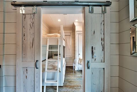 Modern Country French Living Rooms by 27 Creative Kids Rooms With Space Savvy Sliding Barn Doors