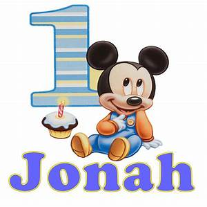 Baby Mickey Mouse Birthday Clip Art Pictures to Pin on ...