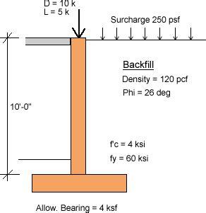 Basement Wall Design Example Using Asdip Retain
