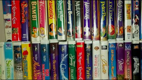 what your vhs tapes are worth now aol finance