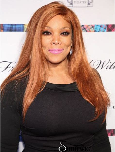 Without Bangs Straight Blonde 20 Inch Good Wendy Williams Wigs