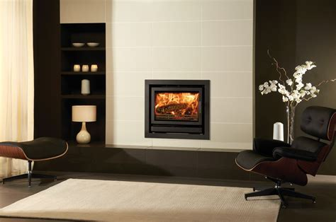 Riva 76 Wood Burning Inset Fires   Stovax Built In Fires