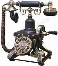 old fashion phones Old Style Phone Telephone Antique Phone Rotary Style Eiffel Corded Landline 870586000035 | eBay