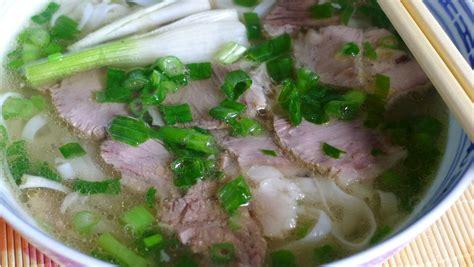 cuisine pho pho bo beef noodle soup recipe