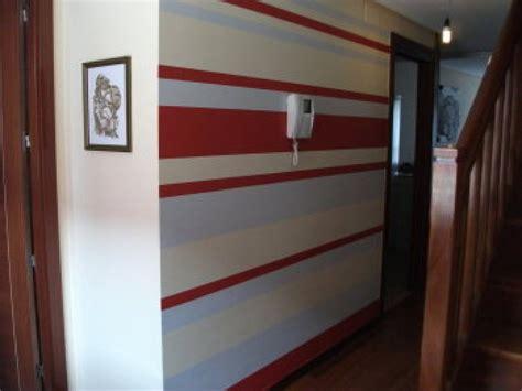 paredes pintadas  rayas bricolaje