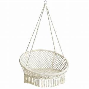 Macrame Hanging Saucer Chair Pier 1 Imports