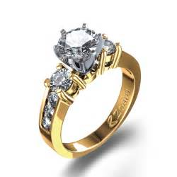 engagement ring in 14k yellow gold united kingdom - 14k Yellow Gold Engagement Rings