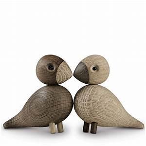 Kay Bojesen Vogel : kay bojesen unzertrennliche vogelfiguren dekov gel eiche natur 39204 ~ Yasmunasinghe.com Haus und Dekorationen