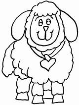 Coloring Sheep Pages Popular sketch template