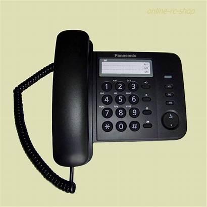Telefon Schnurgebunden Panasonic Kx Schwarz Wandmontage