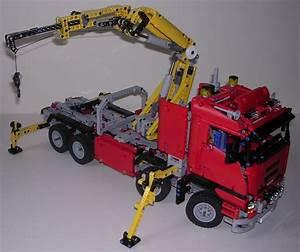 Lego Technic Camion : review lego technic 8258 camion grue lego ~ Nature-et-papiers.com Idées de Décoration