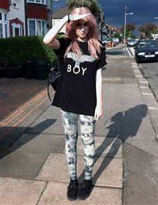 Leggings cool swag grunge tumblr tumblr outfit tumblr girl tumblr clothes hipster ...