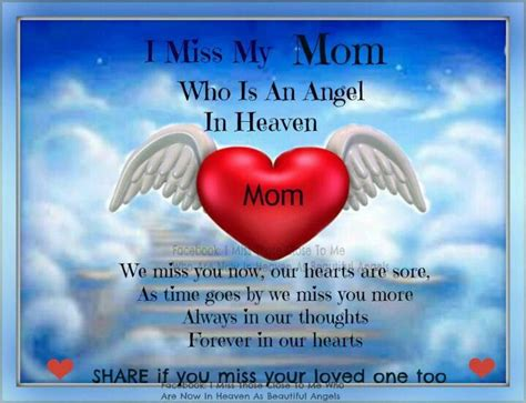 Missing You Mom Quotes Ialoveniinfo