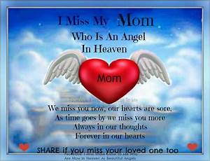 Missing You Mom Quotes Ialoveniinfo