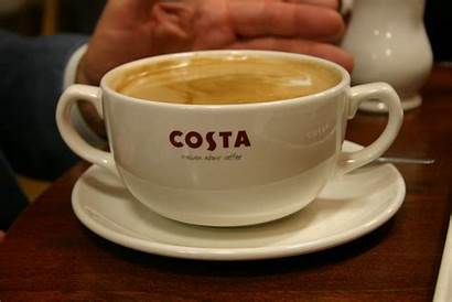 Costa Coffee Cup Cafe English Order Typical